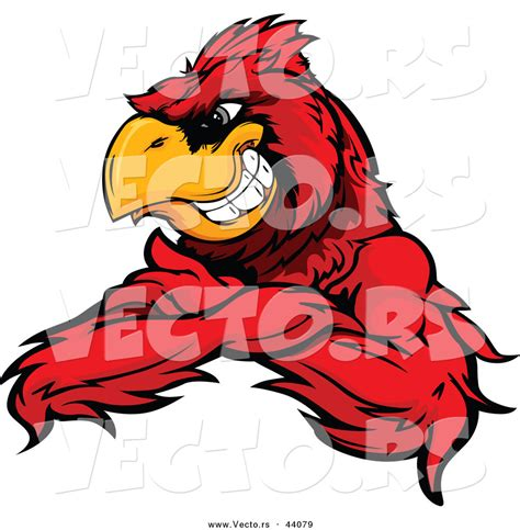 mascot clipart bird mascot clipart