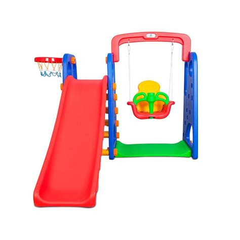 Kids Plastic Basketball Ring Hoop Slide Swing Set Buy