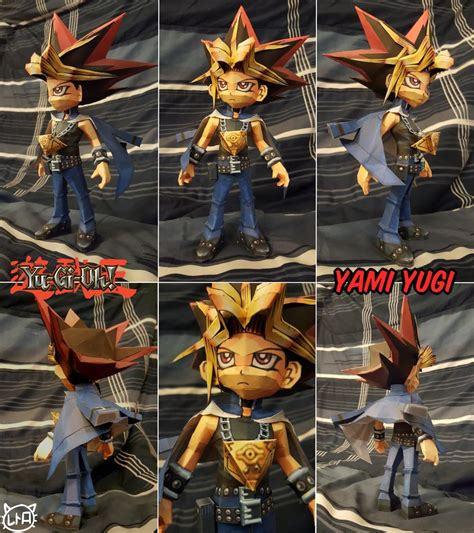Yugioh Papercraft - yu gi oh papercraft yami yugi by superretrobro on