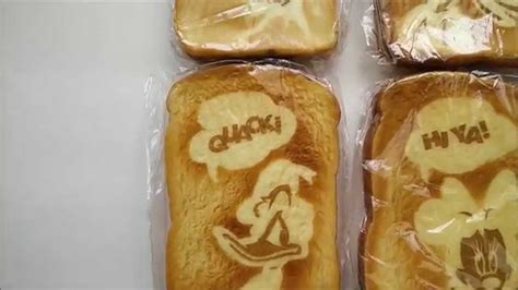 Squishy Bread Premium disney squishy bread toasts