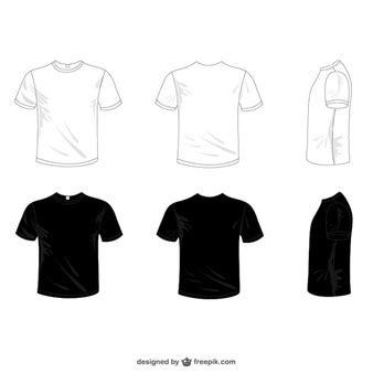 Vector Baju T Shirt t shirt vectors photos and psd files free