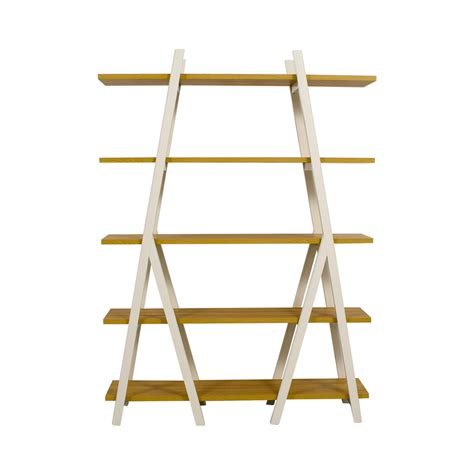 elm white bookcase bookcases shelving used bookcases shelving for sale