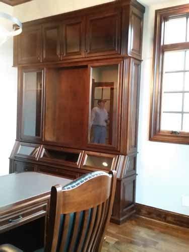 built in gun cabinet vh wall built in gun cabinet 20170505 174924 amish