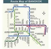 泰国曼谷地铁线路图 旅游有秘密