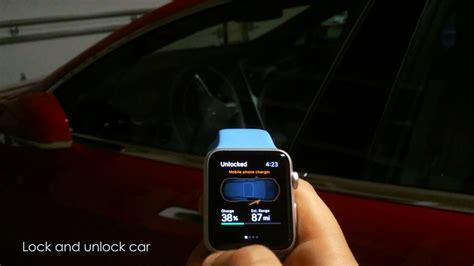 tesla remote start tesla model s car fully controlled by apple