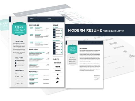 17 best images about cover letter resume design on cover letter resume cover