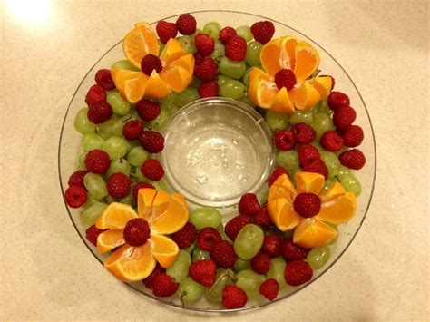 christmas fruit platter love the fresh fruit idea