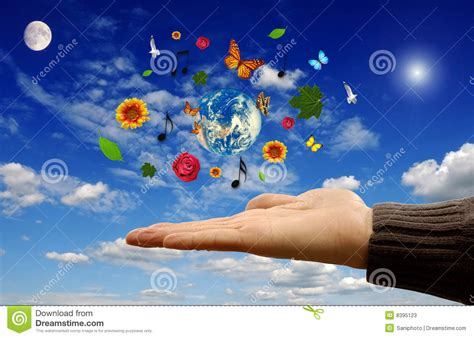 beautify worldwide a beautiful world stock image image of open planet