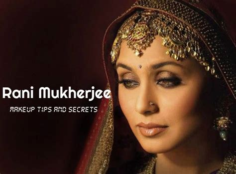 Eyeliner Ranee rani mukherjee makeup fitness and diet tips