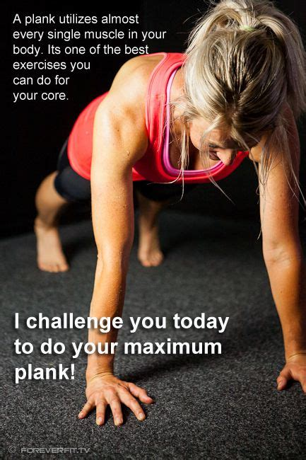 plank exercise quotes quotesgram
