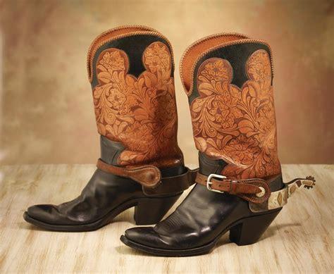 boot spurs frank bradney spurs on custom boots