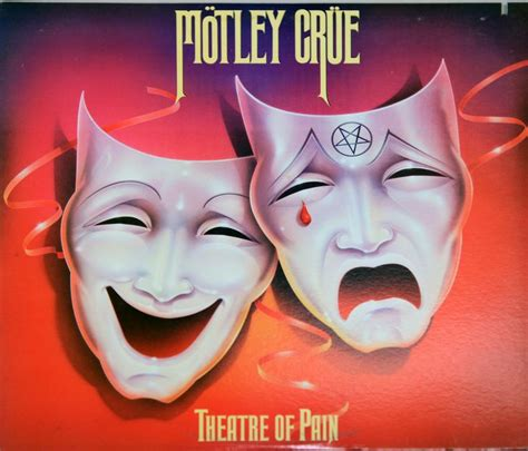 motley crue quot theatre of quot actual album cover from