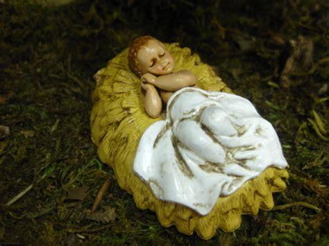 landi baby jesus nativity set figurine presepio creche