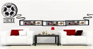 movie wall stickers movie strip picture frame wall decal dezign with a z