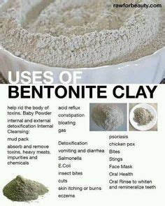 Bentonite Clay Detox Diet by 100 Colon Cleanse Recipes On Colon Cleansers