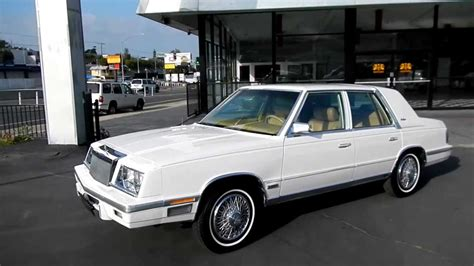 86 Chrysler New Yorker by 1987 Chrysler New Yorker 1 Owner Car No Vat Export