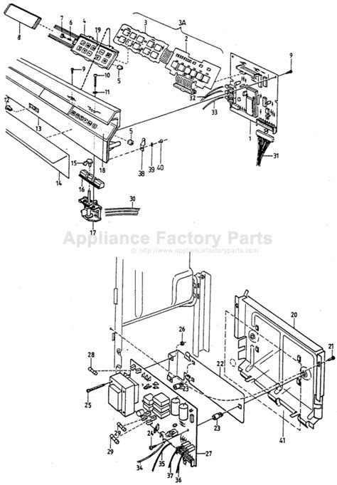 Parts For 1500 Asko Dishwashers