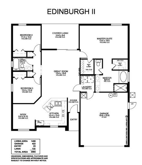 closet floor plans highland homes edinburgh ii parade of homes award winning floor plan no space wasting