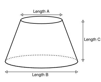 sheet metal cone template flat cone template calculator