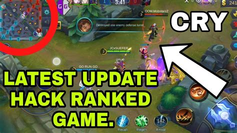 mobile legend update update hack ranked mobile legends