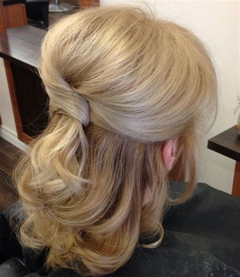 mother of the bride half up half down wedding hairstyles best 20 half up wedding ideas on pinterest