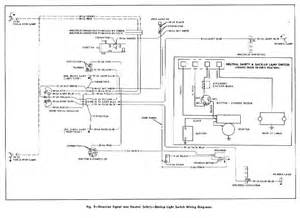 direction signal and neutral safety backup light switch wiring diagram for the 1955 chevrolet