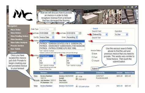 tutorial web portal customer web portal tutorial mc flooring
