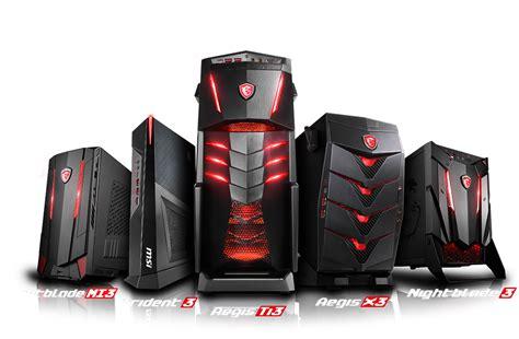 Msi Ds Marksman Pc Desktop Gaming desktop pc master race gaming gear bundles