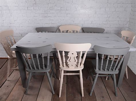 vintage farmhouse country home shabby chic style dining tabl and dining table sets co uk