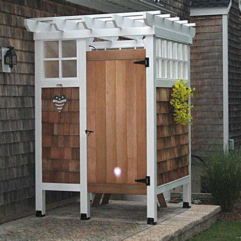 indoor into outdoor this outdoor shower would be awesome to pair with a