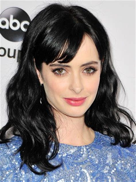 Raven Haired Celebrities | krysten ritter celebrities bangs hairstyles best
