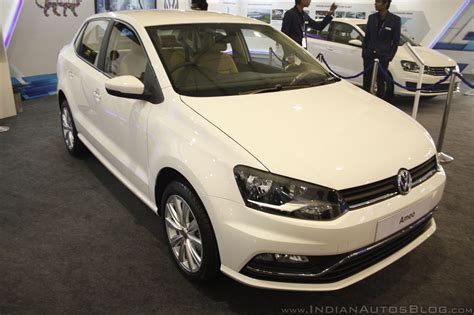 volkswagen ameo vw ameo brochure variant wise feature list inside