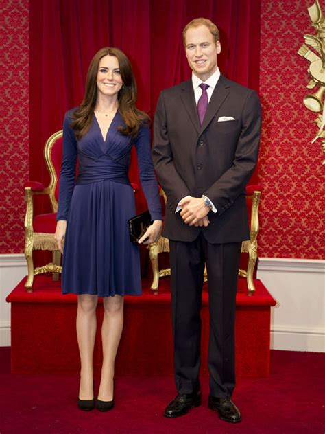 Wax Kate Unveiled by Take William And Kate S Lifelike Waxworks Unveiled