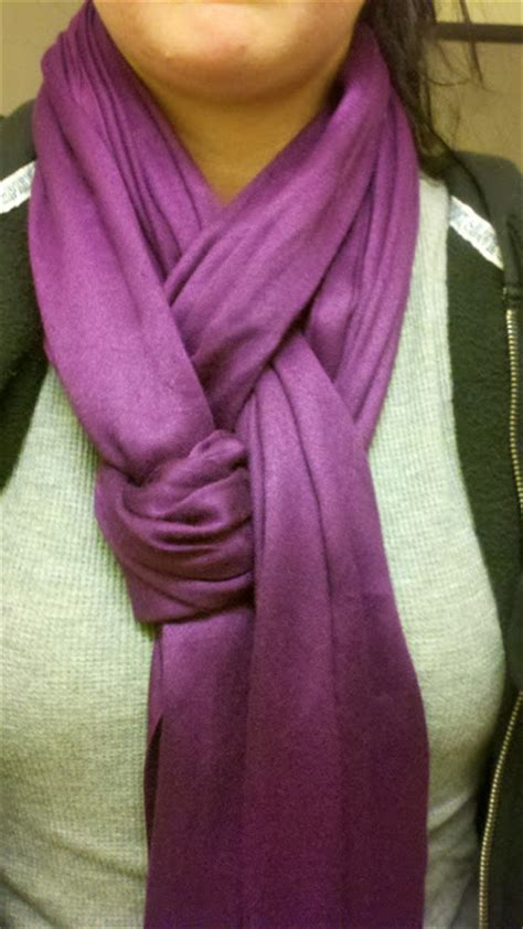 girlythings411 two ways to tie a scarf