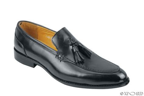 slip on tassel loafers mens real leather slip on tassel loafers retro smart