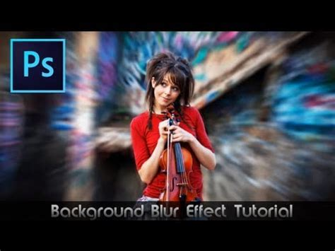 tutorial photoshop cs6 effects photoshop cs6 tutorial awesome blur effect youtube