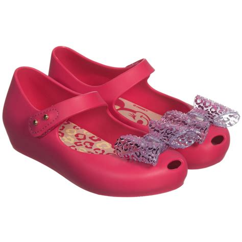 Sandal Mini Mouse mini pink minnie mouse jelly shoes with bow