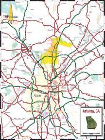 us map of atlanta atlanta ga map