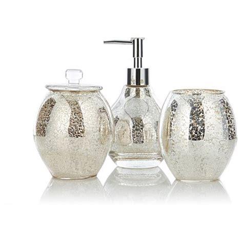 mercury glass bathroom george home accessories mercury glass bathroom