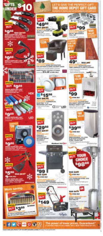 home depot black friday 2014 ad page 17