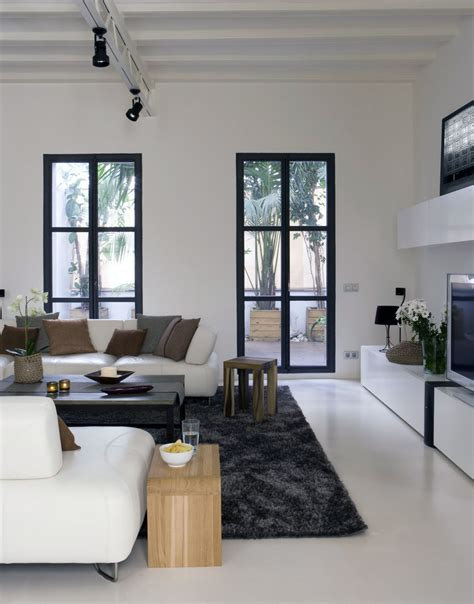 White Modern Living Room by 27 Gorgeous Modern Living Room Designs For Your Inspiration