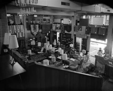 florida memory interior view of shaw s furniture store