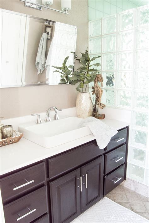 pier 1 bathroom luxurious coastal bathroom update with pier 1 table and