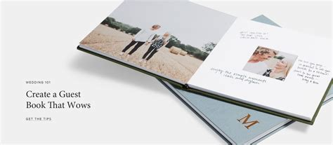 Wedding Album Guest Book by A Events