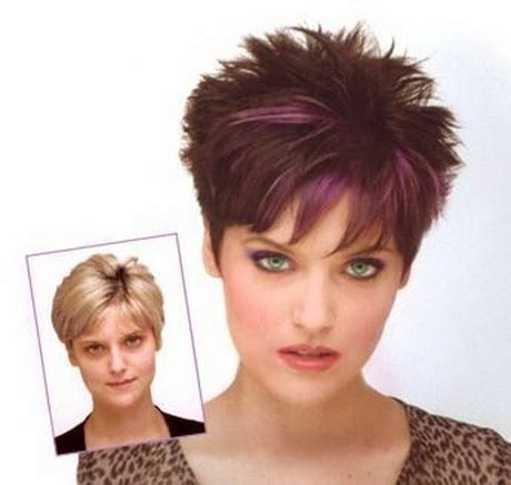 spikey hairstyles for women over 45 with fat face very short spikey hairstyles for women