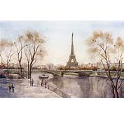City Eiffel Tower Paris River France Picture Android