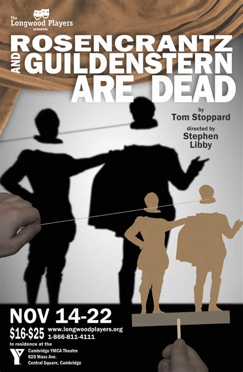Pdf Rosencrantz Guildenstern Are Dead Stoppard by Rosencrantz And Guildenstern Are Dead The Longwood Players