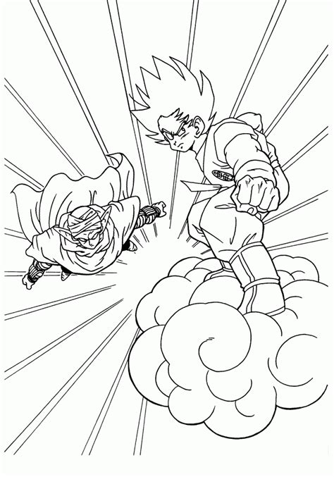 free coloring pages for dragon ball z free printable dragon ball z coloring pages for kids