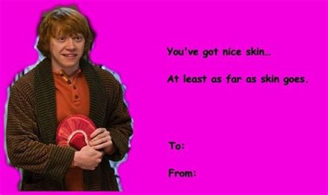 corny harry potter valentines incredible things