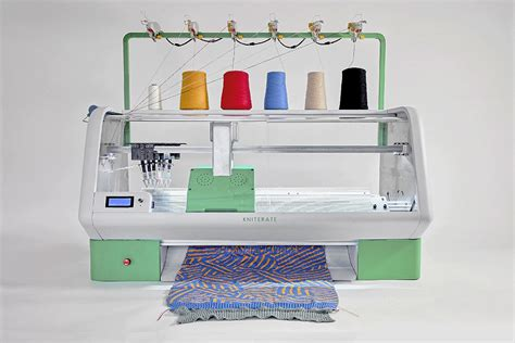 knitting machine for kniterate a new digital knitting machine lets you print